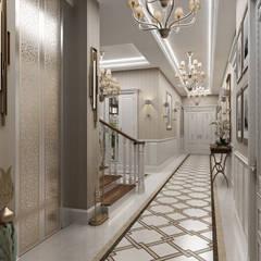 Sia Moore Archıtecture Interıor Desıgn – Sitak Villa - Süleymaniye / Irak:  tarz Koridor ve Hol, Klasik Mermer