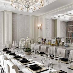 Sia Moore Archıtecture Interıor Desıgn – Sitak Villa - Süleymaniye / Irak:  tarz Yemek Odası