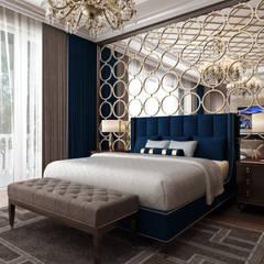Dormitorios pequeños de estilo  por Sia Moore Archıtecture Interıor Desıgn