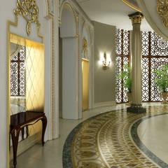 Sia Moore Archıtecture Interıor Desıgn – Pearl Palace - Doha / Katar:  tarz Koridor ve Hol