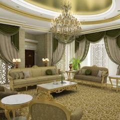 Sia Moore Archıtecture Interıor Desıgn – Pearl Palace - Doha / Katar:  tarz Oturma Odası
