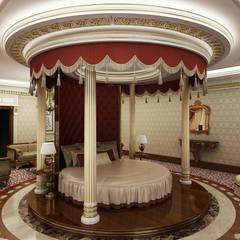 Sia Moore Archıtecture Interıor Desıgn – Pearl Palace - Doha / Katar:  tarz Küçük Yatak Odası