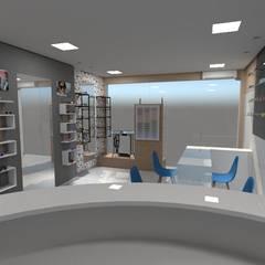 Ótica modernizada: Lojas e imóveis comerciais  por Kadu Olliveira,