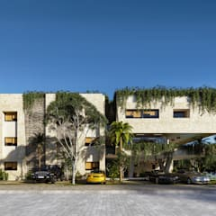 Terrace house by ARQUITECTURA AC+1