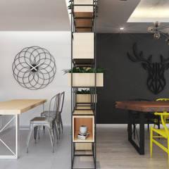 Beta İç Mimarlık – MLT Evi:  tarz Yemek Odası