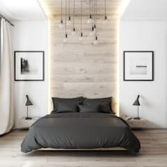 Beta İç Mimarlık – MLT Evi:  tarz Yatak Odası