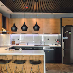 Beta İç Mimarlık – BLL Evi:  tarz Mutfak,