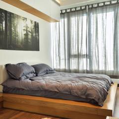 Beta İç Mimarlık – BLL Evi:  tarz Yatak Odası