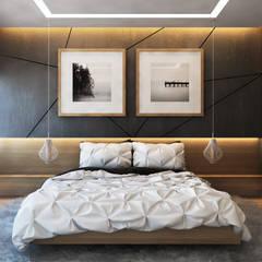 Beta İç Mimarlık – SLD Evi:  tarz Yatak Odası