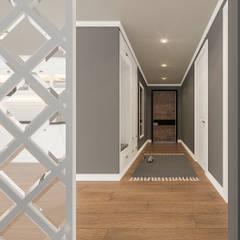 Beta İç Mimarlık – AI Evi:  tarz Koridor ve Hol, İskandinav