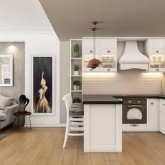 Beta İç Mimarlık – AI Evi:  tarz Mutfak
