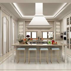 Sia Moore Archıtecture Interıor Desıgn – Majidi Konağı - Erbil / Irak :  tarz Ankastre mutfaklar