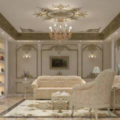 شقه فى الشيخ زايد من lifestyle_interiordesign كلاسيكي