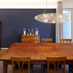 Hochwertige Umgestaltung + Modernisierung einer freistehenden Altbauvilla:  Esszimmer von CLAUDIA GROTEGUT ARCHITEKTUR + KONZEPT