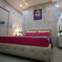 Small bedroom by Enrich Interiors & Decors