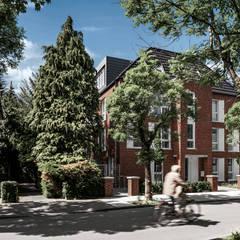 Hilger Architekten의  다가구 주택
