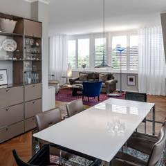 'Sechs Richtige' - Traditionelles Mehrfamilienhaus in Münster, mit 6 Wohneinheiten:  Esszimmer von Hilger Architekten