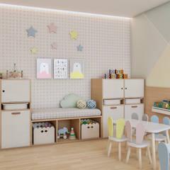Nursery/kid's room by Ana Julia Tavares Arquitetura e Interiores