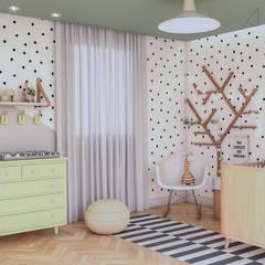 غرف الرضع تنفيذ Ana Julia Tavares Arquitetura e Interiores