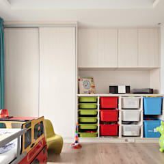 Nursery/kid's room by 耀昀創意設計有限公司/Alfonso Ideas,