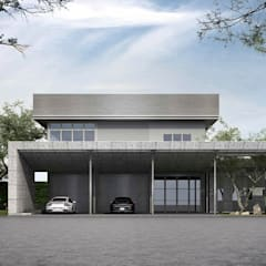 Carport by Metaphor Design Studio, Modern Concrete