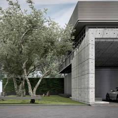 Carport by Metaphor Design Studio