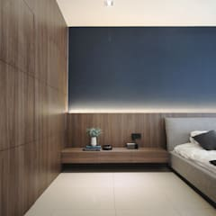 Project BO / IJM Rimbayu:  Bedroom by SIXTH Interior Sdn Bhd