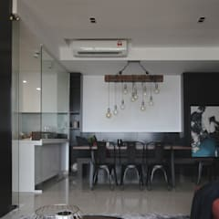 Project RB / Metropark Rustic style dining room by SIXTH Interior Sdn Bhd Rustic