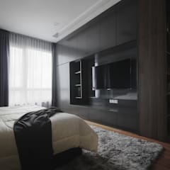 Project RB / Metropark:  Bedroom by SIXTH Interior Sdn Bhd,