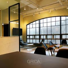 서울 은평구에 위치한 '삼성레이디 여성의원': 그리다아이디의  서재 & 사무실,북유럽
