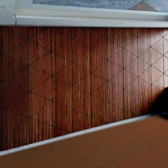 FARUK FURNITURE – OTEL İÇİ AHŞAP PANELLER:  tarz Duvarlar,