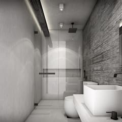 Bathroom by Metaphor Design Studio,