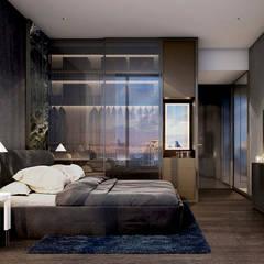 :  ห้องนอน by Metaphor Design Studio