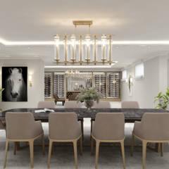 Sia Moore Archıtecture Interıor Desıgn – Majidi Konağı - Erbil / Irak :  tarz Yemek Odası