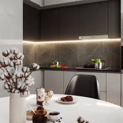 Королёв. Дизайн проект для Дарта Вейдра): Маленькие кухни в . Автор – Levitorria