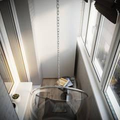 Королёв. Дизайн проект для Дарта Вейдра): балконы в . Автор – Levitorria