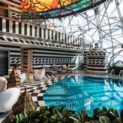 Sia Moore Archıtecture Interıor Desıgn – Mondrian Doha - Doha / Katar:  tarz Oteller