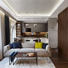 Living room by 'INTSTYLE'