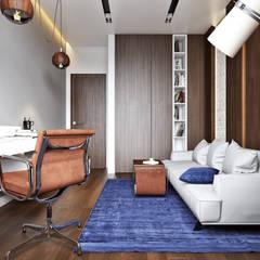 Квартира в ЖК «Monodom (Монодом)»: Рабочие кабинеты в . Автор – 'INTSTYLE'