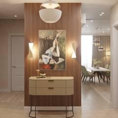Квартира на ул. Рогожский Вал в Москве: Коридор и прихожая в . Автор – Дизайн студия 'Декотренд'