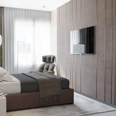 Small bedroom by Студия интерьеров EGOIST