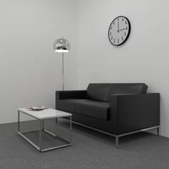 Biuro w .KTW: styl , w kategorii Biurowce zaprojektowany przez SYME - Pracownia Wnętrz,