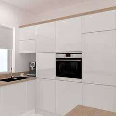 Otwarte dwupokojowe mieszkanie w Katowicach od SYME - Pracownia Wnętrz Nowoczesny