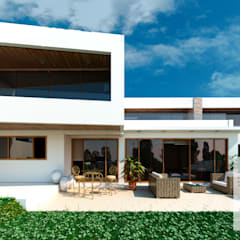 Single family home by ARQD spa, Mediterranean Reinforced concrete