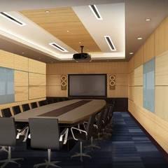 AEON Office:  Office buildings by UpMedio Design , Modern