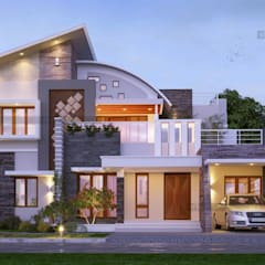شرفة تنفيذ CreoHomes Pvt Ltd , أسيوي