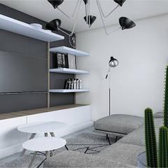Proyecto Felix: Salas de estilo  por CODIAN CONSTRUCTORA, Escandinavo