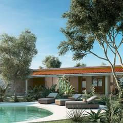 Garden Pool by FASCA