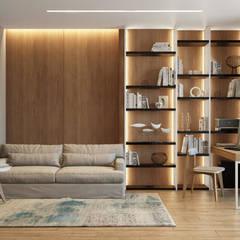 Квартира в ЖК «Комплекс апартаментов «Софийский»» : Рабочие кабинеты в . Автор – 'INTSTYLE'