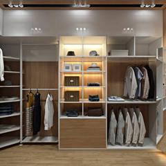 Dressing room by 'INTSTYLE', Scandinavian
